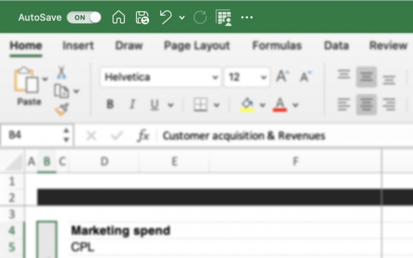 How to Turn On Auto Save in Excel