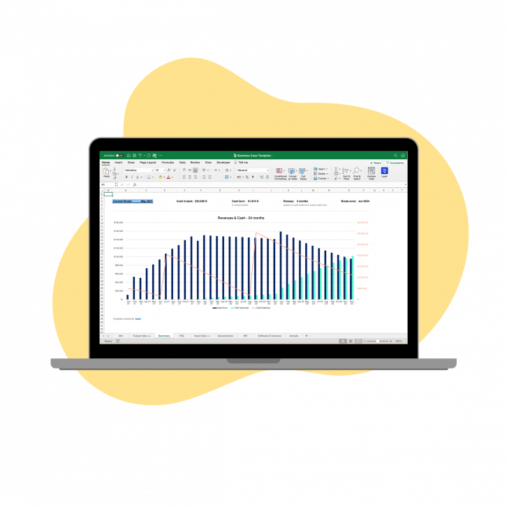 Business Case Free Excel Template
